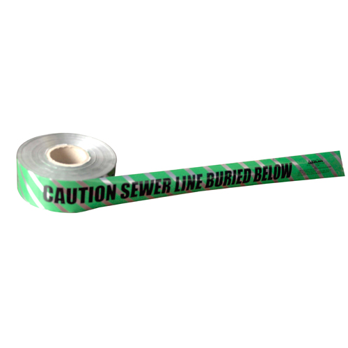 cable underground Electrical/Sewer/Water/Communication detectable warning tape DSC0057