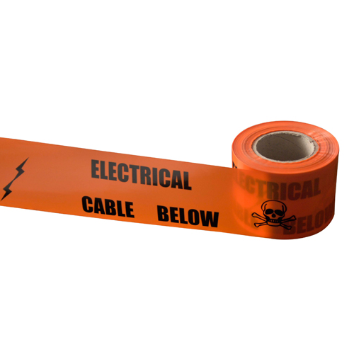 Home Non Detectable Underground Cable Warning Tape DSC0041