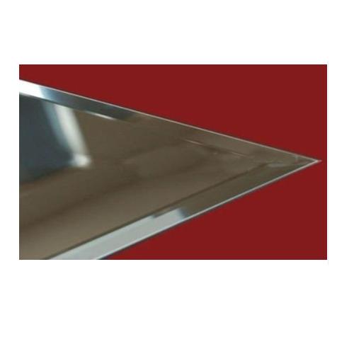 1.8mm Aluminium Mirror Glass with high quality   KJ-8173