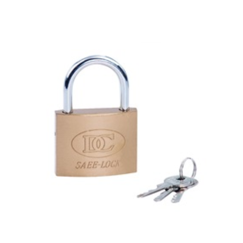 Imitation copper padlock with short shackle or long shackle  D14