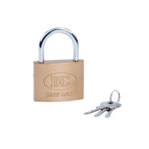 short beam imitation copper iron padlock brass cylinder  D30