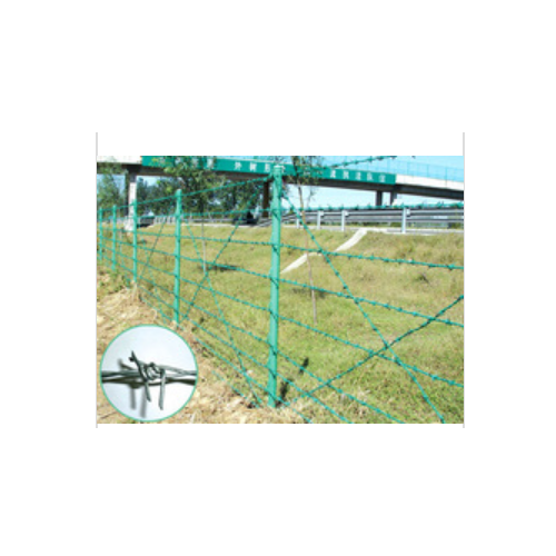 Better quality+Lower price+Galvanized twist barbed wire  D136