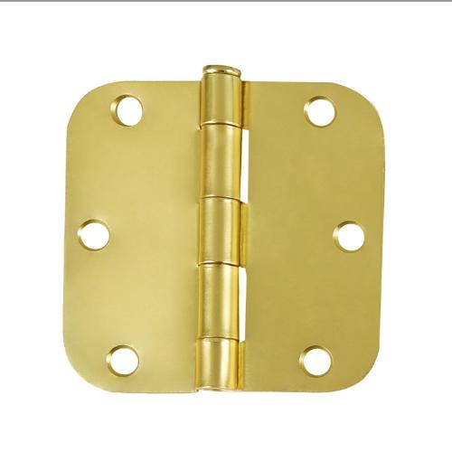 square butt radius corner residential door hinge with screw SH-017