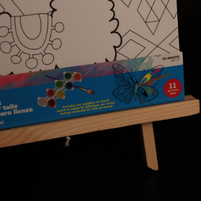 writing magnetic board / wood drawing stand/collapsible easel MJK-001