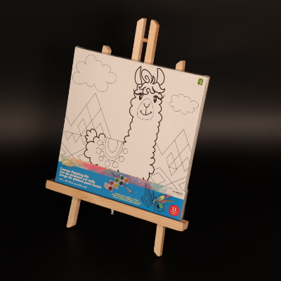 Folding Wooden Frame Sketch Kids Drawing Painting Adjustable Drawing Stand  MJK-003