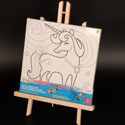 Wooden Kid Drawing Easel / Standing Easel Drawing board drawing stand MJK-004