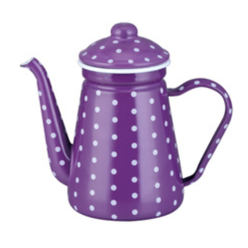 0.9L Enamel Coffee Pot Enamel Teapot Enamel Coffee Warmer Tk508EF