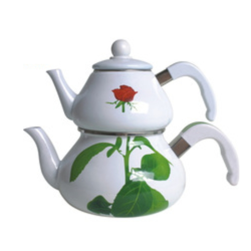 Wholesale Enamel Ware Enamel Kettle Set TK605