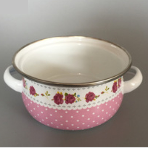 Small Size Enamel Kitchenware Enamel Pot Set 601DG