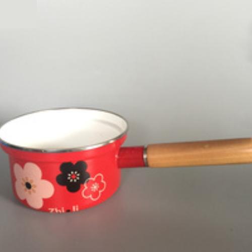 High Edge Enamel Milk Pot Enamel Pot  151D