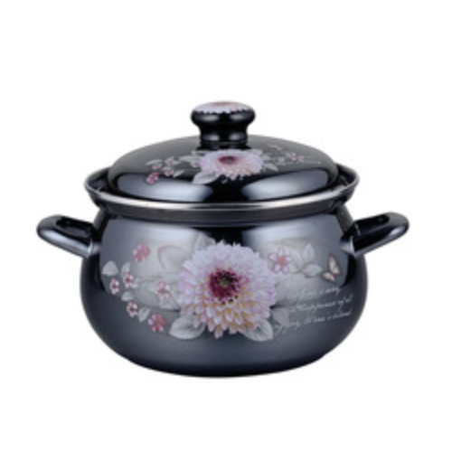 Enamel Stockpot Enamel Casserole Soup & Stock Pots  812D