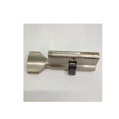 60mm with knob nickel plate cylinder lock  P12