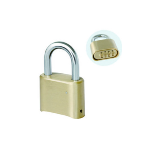 52.8mm brass Resettable Combinaton master lock padlock  P31