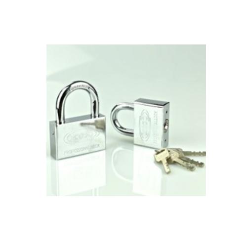 square padlock with vane key  P66