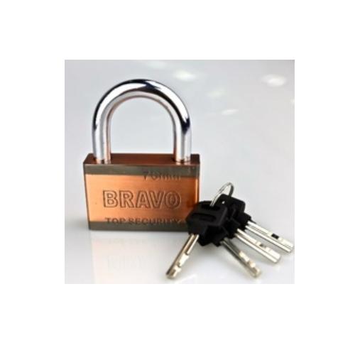 double color square iron padlock  P125