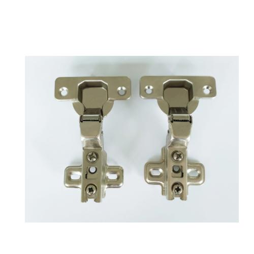 Slide on two way door hinge with inset design   QW-261-C