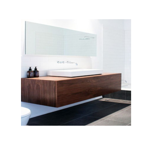 Modern mirror sliding door bathroom cabinet   SJ48
