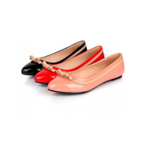 Factory sell woman pointed toe woman flat shoes for hot-selling CP6848