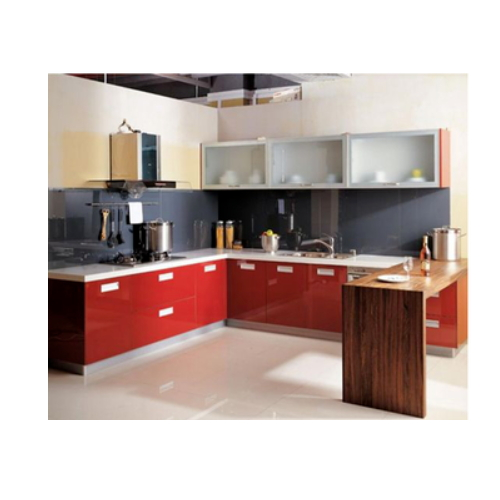 hot selling red kitchen cabinet  SJ174