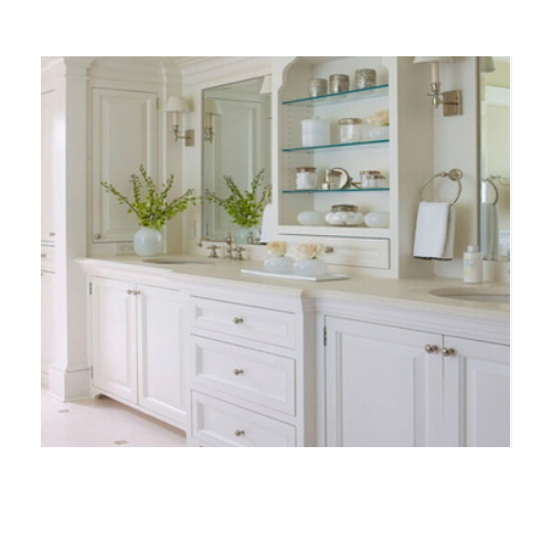 MFC bathroom vanity cabinet  SJ190
