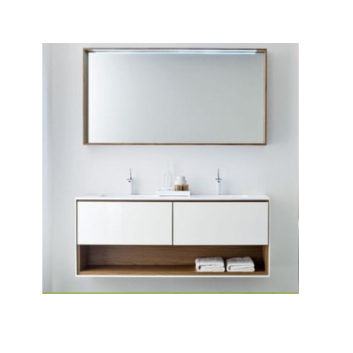 bathroom vanity wooden cabinet bath set  SJ195