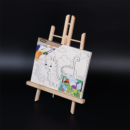 kids erasable magnetic wooden drawing white board and blackboard toy Toy Draw Board MJK-011