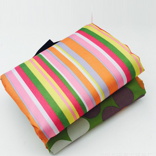 Colorful Stripe Folding Mat Picnic Mat Camping Product Qh-001