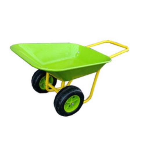 Nice metal kids garden wheelbarrow with double or simple wheel   WB0103