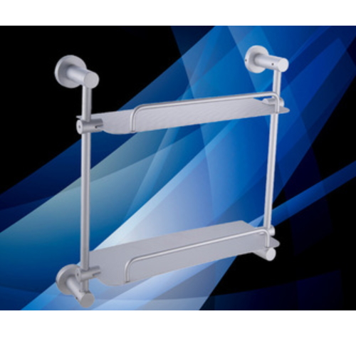 bathroom double hanging wall shelves KD-D6814