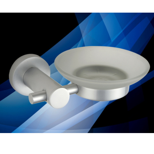 cheap wall mount aluminium silicone soap dish KD-D6808