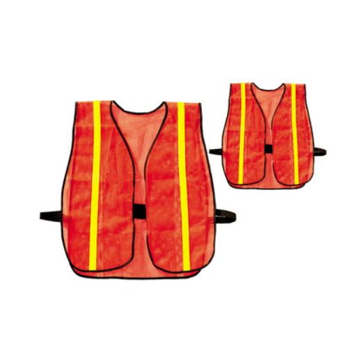 hot sale polyester orange mesh vest   R-9105