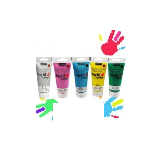 children's finger paint finger colour hand made colour    633