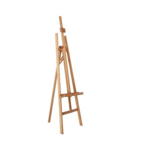 red beech wooden art easel    W01