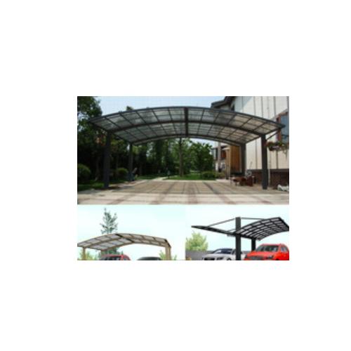 modern  Aluminium carport carport with polycarbonate sheet roof   ST01