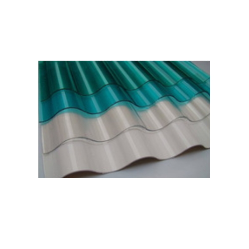 1MM Building Material Corrugated Polycarbonate Sheet for Roofing Shed    ST49