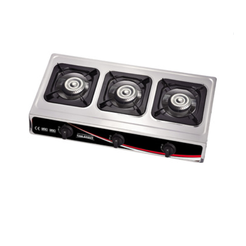 stainless steel side panel superior quality gas cooker   7103