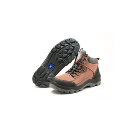 Safety shoes with steel toe, nubuck safety boots Italy slip resistant    LJ-GB8803