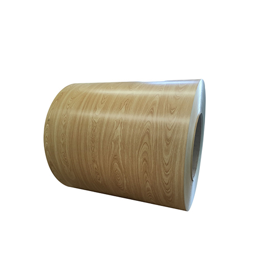 Wood Grain Color Coated Aluminum Sheet Coil Used for Home-decorating DG-003