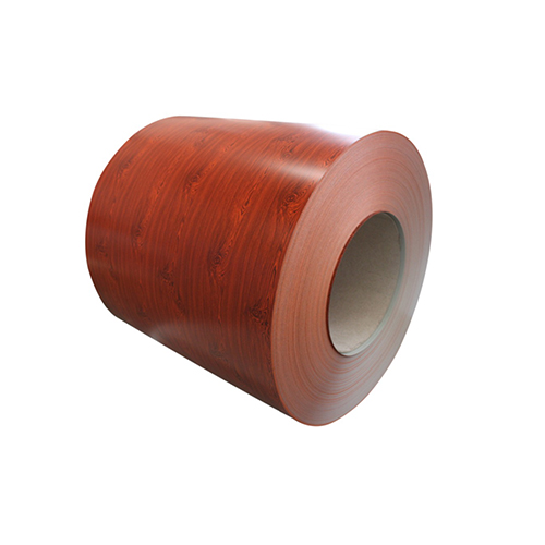 wood grain color coated aluminum coil for aluminum ceiling system DG-004