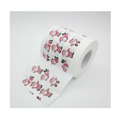 cheap printed bamboo funny tissue paper roll     AY-71