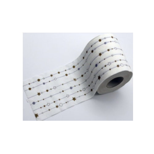 Novelty toilet paper ,star and stripe printed toilet paper     AY-144