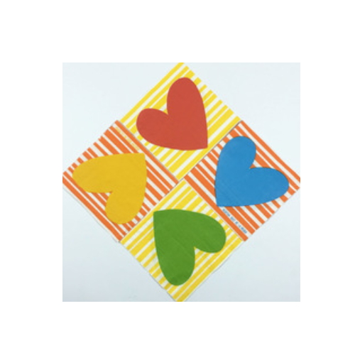 Valentine paper napkins for wedding party   AY-152