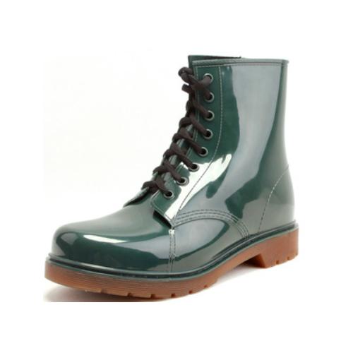 Hotsales Cheap Fashion PVC Ankle Rain Boots Men   QH159