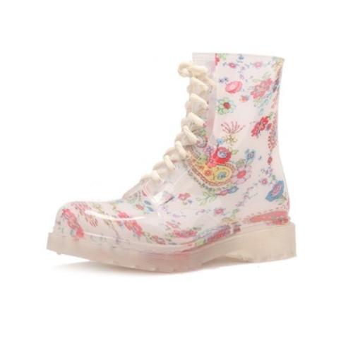fashion cheap martin PVC rain boots   QH172