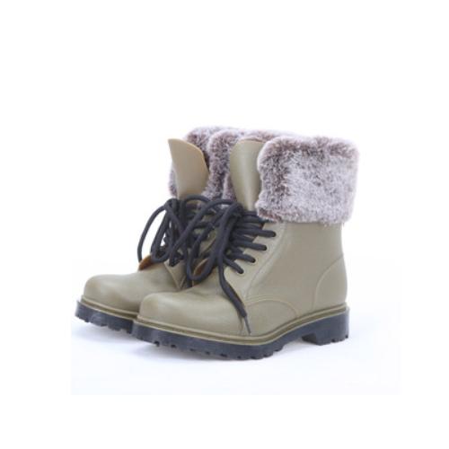 fashion martin style pvc rain boots for women    QH177
