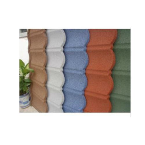 Colorful Stone Coated Metal Roofing Tile Asphalt coated steel roofing   JH136