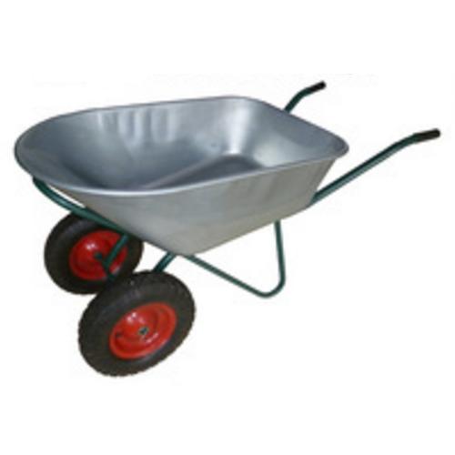 Power Strengthen Style Metal Wheelbarrow  100L WB8614