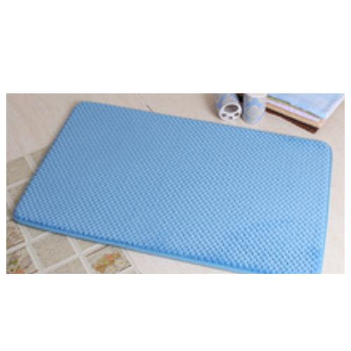 Cheap microfiber soft doormat with non-slip base bath mat     LZ-BL-1B