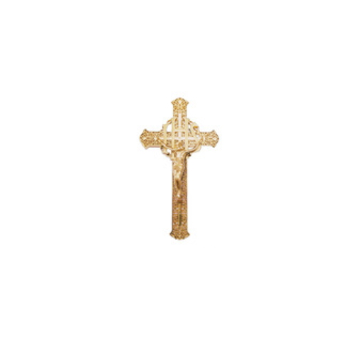 China Manufacturer Coffin Fitting Cross Jesus with Plastic JS-4