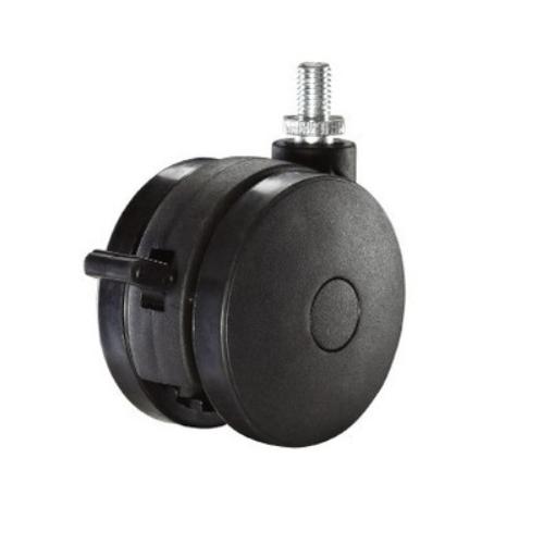 75mm nylon swivel non-hood  caster wheels     JWSQ75